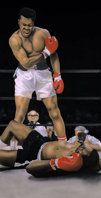 """Terry Wilson Hand Signed and Numbered Limited Edition Giclee: """"Mohamed Ali"""""""