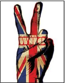 """The Who Rock Album Cover Art on Stretched Oversize Archival Canvas: """"Peace Sign"""""""