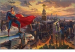 Thomas Kinkade | DC Super Hero Fine Art