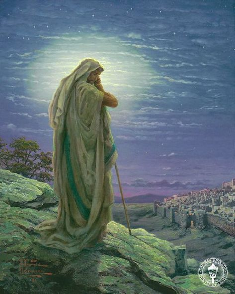 """Thomas Kinkade Signed and Numbered Limited Edition Giclee: """"A Prayer for Peace"""""""