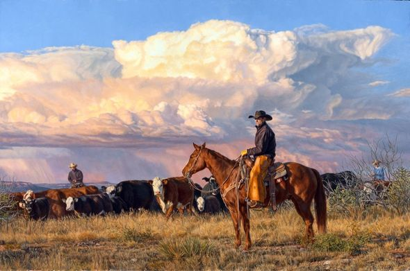"""Tim Cox Artist Hand-Signed and Numbered Limited Edition Print: """"Summer is Almost Gone"""""""
