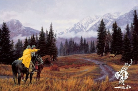 """Tim Cox Hand Signed and Numbered Limited Edition Artist Proof Print: """"Rocky Mountain Majesty"""""""