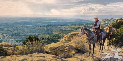 """Tim Cox Hand-signed and Numbered Limited Edition Print: """" Where Freedom Lives """""""