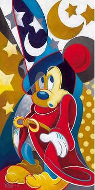 """Tim Rogerson Handsigned and Numbered Limited Edition Embellished Giclee on Canvas: """"Magical Moment"""""""