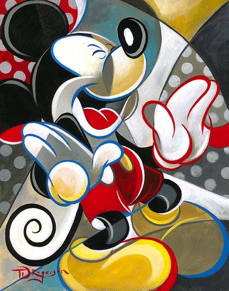 """Tim Rogerson Signed and Numbered Giclée on Canvas: """"Knee Slapper"""""""