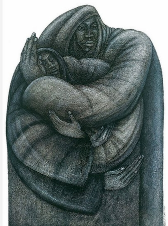 """Charles Bibbs Hand Signed and Numbered Limited Edition Print:""""Unity"""""""