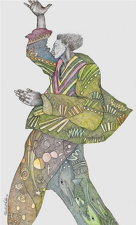 """Charles Bibbs Hand Signed and Numbered Limited Edition Print:""""Victory Coat"""""""