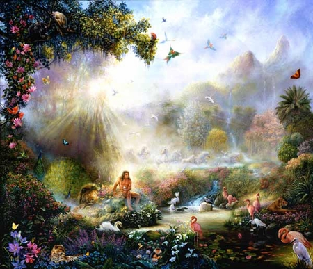 """Tom Dubois HAndsigned and Numbered Limited Edition Print: """"The Breath Of Life"""""""