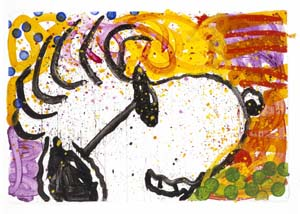 """Tom Everhart Hand Signed and Numbered Limited Edition Lithograph on Paper:""""Pop Star"""""""