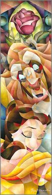 """Tom Matousek Hand Signed and Numbered Limted Edition Canvas Giclee:""""True Love's Embrace"""""""