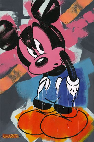 """Trevor Carlton Signed and Numbered Limited Edition Hand-Textured Giclée on Canvas:""""Hot Shoes"""""""