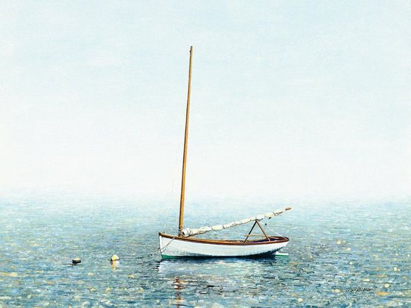"""Tripp Harrison Handsigned & Numbered Limited Edition Giclee on Paper:""""Abaco Morning"""""""
