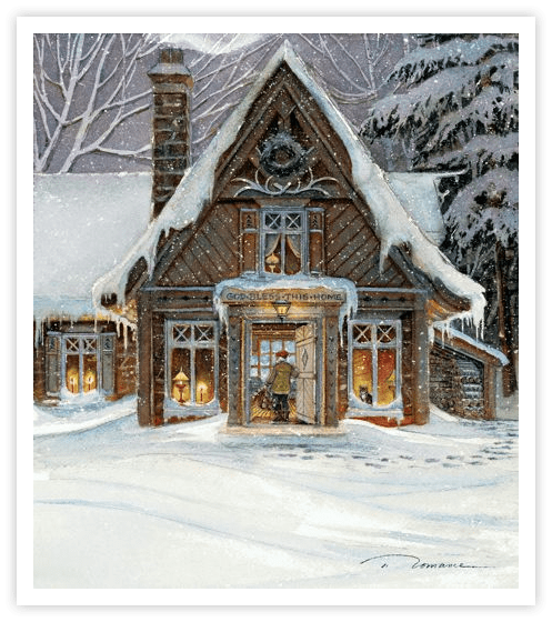 """Trisha Romance Hand Signed and Numbered Limited Edition Giclee:""""Blessings of Home"""""""