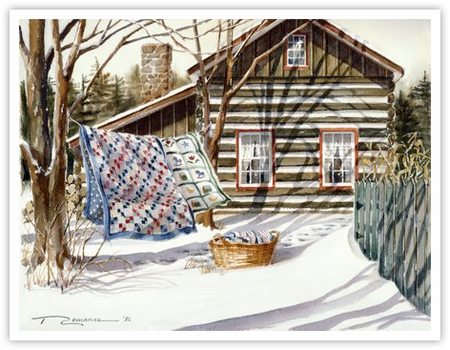 """Trisha Romance Hand Signed and Numbered Limited Edition Giclee:""""Fresh Breeze"""""""