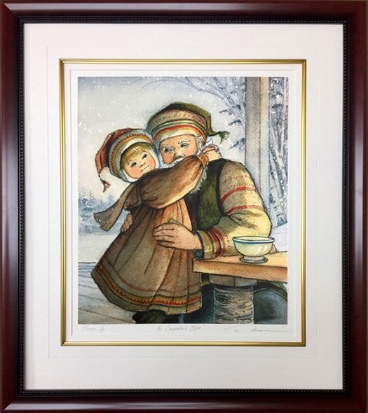 "Trisha Romance Hand Signed and Numbered Limited Edition Giclee:""Hugs Of Love"""