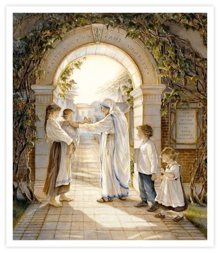 """Trisha Romance Hand Signed and Numbered Limited Edition Giclee:""""Journey of Hope"""""""