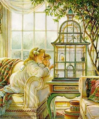 """Trisha Romance Hand Signed and Numbered Limited Edition Giclee:""""Songbirds"""""""