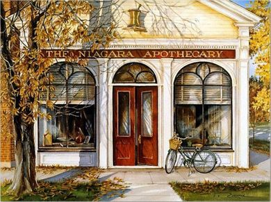 """Trisha Romance Hand Signed and Numbered Limited Edition Giclee:""""The Apothecary"""""""