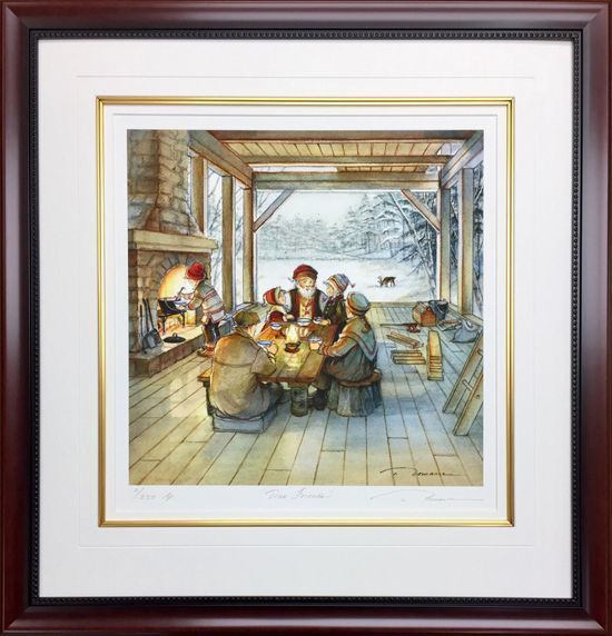 """Trisha Romance Hand Signed and Numbered Limited Edition Giclee:""""True Friends"""""""