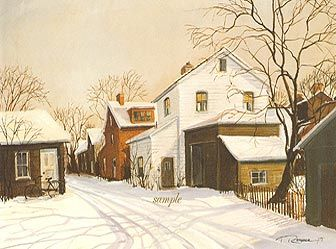 """Trisha Romance Hand Signed and Numbered Limited Edition Print """"Quiet Morning"""""""