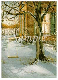 """Trisha Romance Hand Signed and Numbered Limited Edition Print """"Till Next Season"""""""