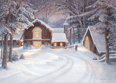 """Trisha Romance Handsigned and Numbered Limited Edition: """"Snowed In"""""""