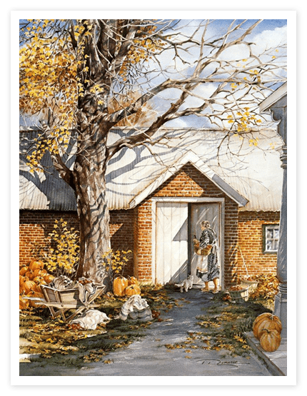 "Trisha Romance Limited Edition Grand Romance Canvas:""The Root Cellar"""