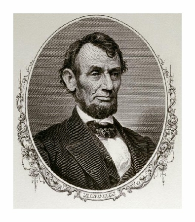 "Unknown Fine Art Open Edition Giclée:""Abraham Lincoln"""