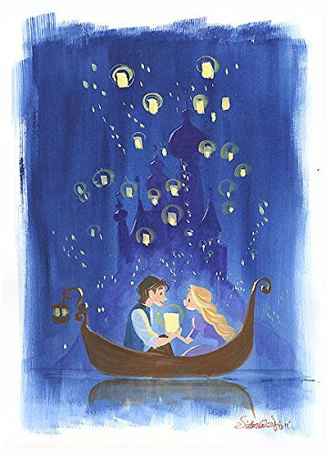"""Victoria Ying Signed and Numbered Giclée on Archival Watercolor Paper:""""By the Light of Lanterns"""""""