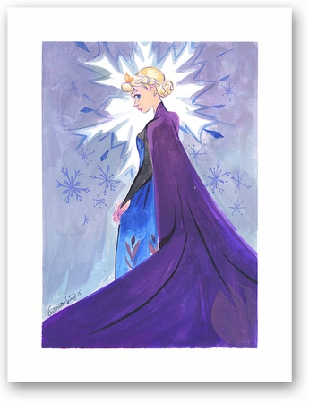 """Victoria Ying Signed and Numbered Giclée on Archival Watercolor Paper:""""Snow Queen"""""""