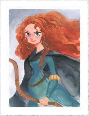 """Victoria Ying Signed and Numbered Giclée on Paper: """"Merida"""""""
