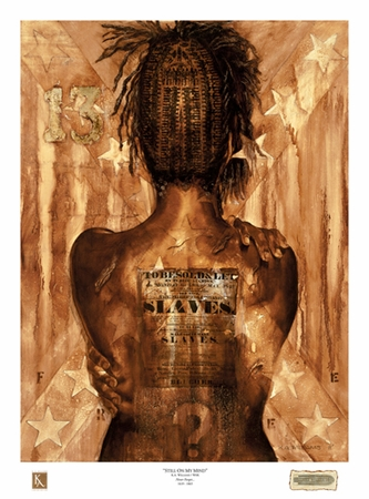 """Kevin A. Williams (WAK) Signed and Numbered Limited Edition Print:""""Still On My Mind"""""""