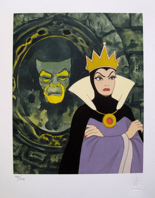 "Walt Disney Studios Limited Edition Giclee:""Snow White: Mirror Mirror On The Wall"""