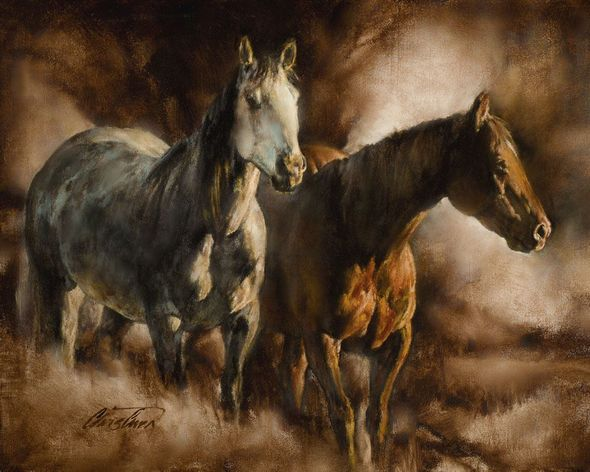 """Chris Owen Artist Signed and Numbered Limited Edition Print:""""Friendship"""""""