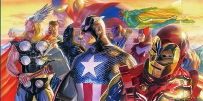 """Alex Ross Artist Signed Proof Limited Edition Giclee on Paper:""""Invincible"""""""