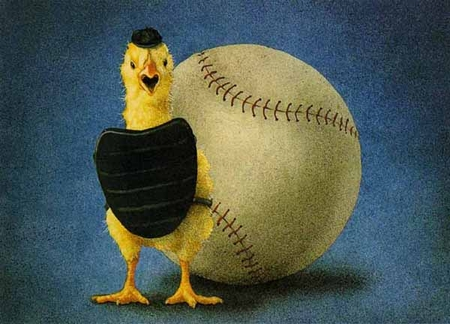 "Will Bullas Fine Art Limited Edition Paper :""Fowl Ball"""