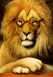 "Will Bullas Fine Art Open Edition Canvas :""Those Lion Eyes"""
