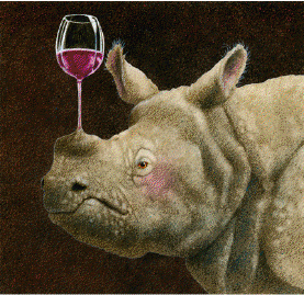 "Will Bullas Handsigned and Numbered Limited Edition Giclée Canvas:""wine-oplasty"""