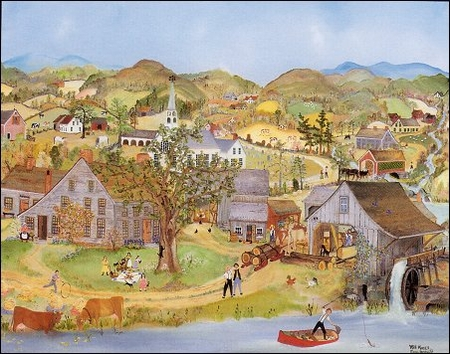"""Will Moses Handsigned & Numbered Limited Edition Print:""""Down In The Valley"""""""