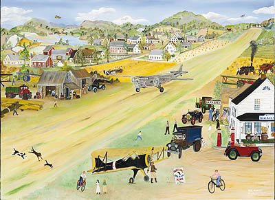 """Will Moses Handsigned & Numbered Limited Edition:""""The Old Landing Strip """""""