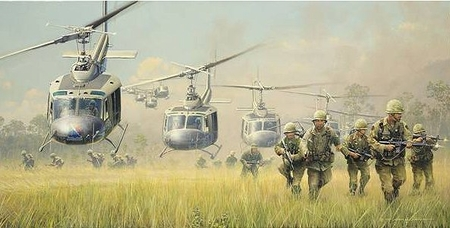 """William Phillips Handsigned and Numbered Limited Edition Print: """"First Boots on the Ground """""""