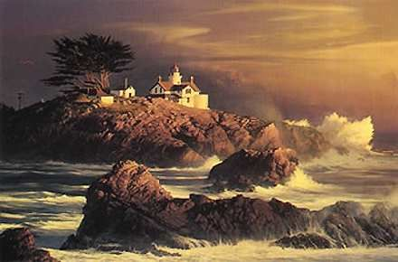 """William Phillips Handsigned and Numbered Limited Edition Print:""""And the Light Shall Prevail"""""""