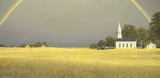 """William Phillips Limited Edition Print: """"Heartland"""""""