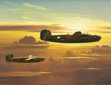 "William S. Phillips Handsigned and Numbered Limited Edition Giclee on Canvas:""Dawn of the Liberators"""