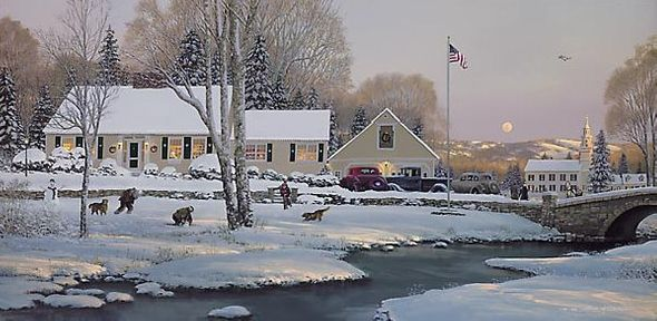 """William S. Phillips Handsigned & Numbered Limited Edition Print:""""December of '45 """""""