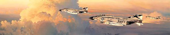 """William S. Phillips Handsigned & Numbered Limited Edition Print:""""Phantom Thunder """""""