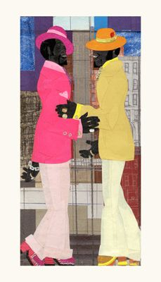 "Willie Torbert Limited Edition Signed Giclee Ed. 275:""Brothers Ballin' """