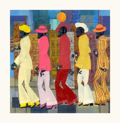 "Willie Torbert Limited Edition Signed Giclee Ed. 275:""Five Deep"""