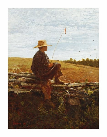 "Winslow Homer Fine Art Open Edition Giclée:""On Guard"""