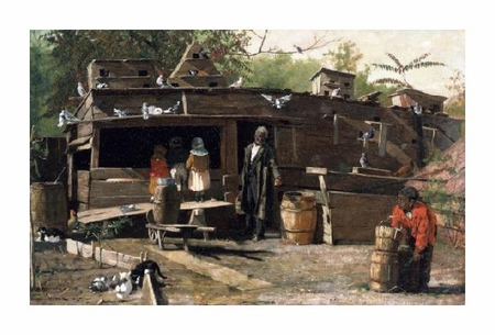 "Winslow Homer Fine Art Open Edition Giclée:""Uncle Ned at Home"""